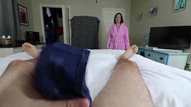 Mom Catches a Panty Sniffer - Part 2