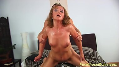 redhead mom big cock doggystyle fucked