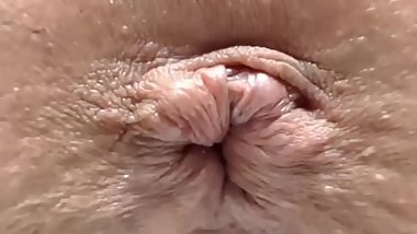 Creampie from my vagina and close up with my butt hole