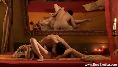 Exotic Lovers Trying New Positions