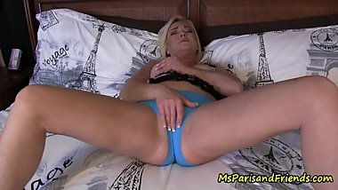 Step-Mommy Prepares Her Panties for Her Son