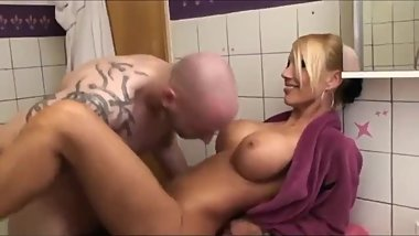 My Sexy German Mom with Perfect Tits Gets Fucked By Our New Neighbor