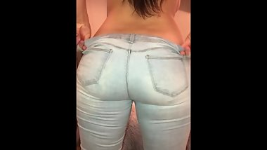 Thick Lesbian PAWG Jeans Big Ass full video at onlyfans.com/heatherheart