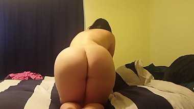 THICK Nude BBW MILF Snow Bunny In Bed