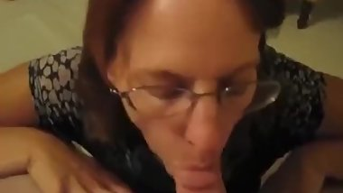 1/2- Nervous huge ass mom experiments with stepson w/ hubby gone (2 nights)